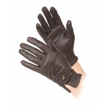 Aubrion Leather Riding Gloves - Maids
