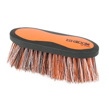 EZI-GROOM Grip Long Bristle Dandy Brush