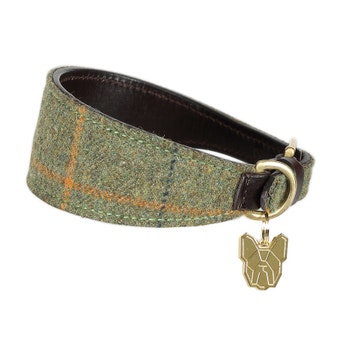 Digby & Fox Tweed Greyhound Collar