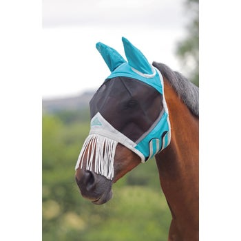 Fine Mesh Fly Mask with Ears &  Nose Fr