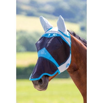 Air Motion Fly Mask with Ears & Nose