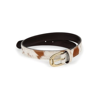 Aubrion 25mm Cow Hair Skinny Belt