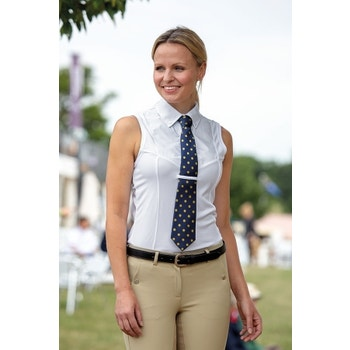 Sleeveless Tie Shirt - Ladies