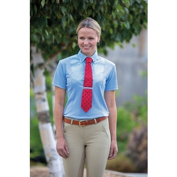 Short Sleeve Tie Shirt - Ladies